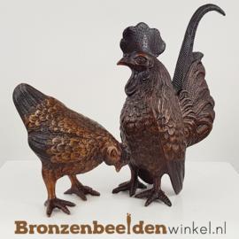 Kippen beelden hen en haan BBW4337-4333