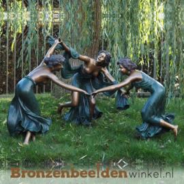 Tuinbeeld dansende vrouwen BBW825