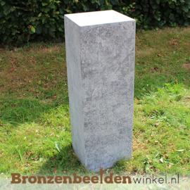 Hardsteen sokkel 75x25x25 cm