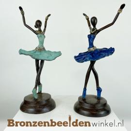 """Afrikaanse ballerina beelden set """"Klein""""  28 cm BBW009br96"""