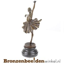 Ballerina beeldje brons BBWFA90