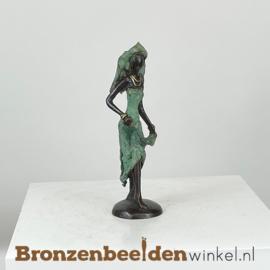 """Afrikaans beeld """"Rossa"""" 16 cm BBW009br67"""