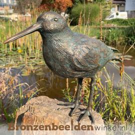 Beeld scholekster vogel in brons BBWR89031