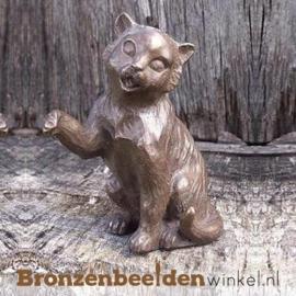 Kattenbeeldje van brons BBW1381br