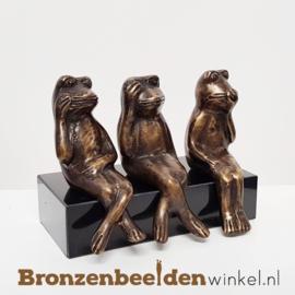 """Horen Zien en Zwijgen beeldjes """"Kikkers"""" BBW008br03"""