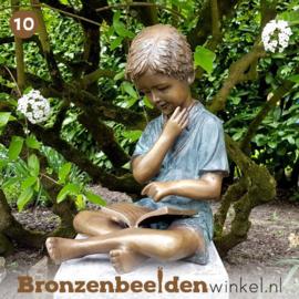 NR 10 | 70 jaar verjaardagscadeau ''Lezende jongen'' BBW1561br