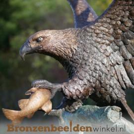 Tuinbeeld adelaar brons BBW1243