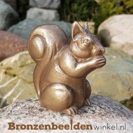 Bronzen eekhoorn beeld BBWP4361