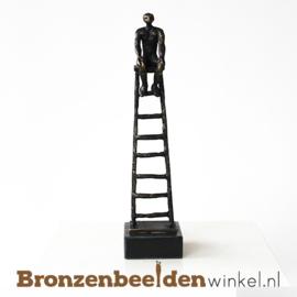 "NR 8 | 40 jaar in dienst cadeau ""De carrièreladder"" BBW005br43"