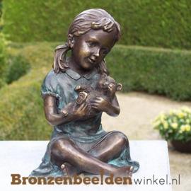 Bronzen meisje met poesje BBW0804br