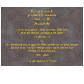 Bronzen plaquette 21x29 cm patina As