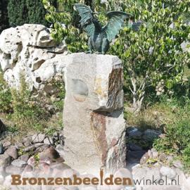 Bronzen draken beeld BBWR90166