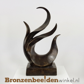 """Abstract beeld """"Het Heilige Vuur"""" BBW91240br"""