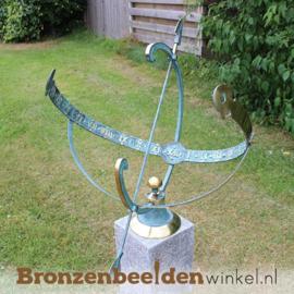 NR 4 | 35 jaar in dienst cadeau ''Bronzen zonnewijzer'' BBW0028br