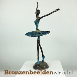 Afrikaans ballerina beeld 40 cm BBW009br97