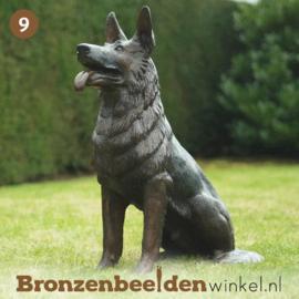 NR 9 | Cadeau man 50 jaar ''Bronzen Herdershond'' BBW56814