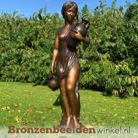 """Bronzen fontein """"Antonia met twee kruiken"""" BBW317"""