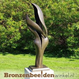 """NR 1   Groot abstract beeld """"Verbondenheid"""" BBW0819br"""