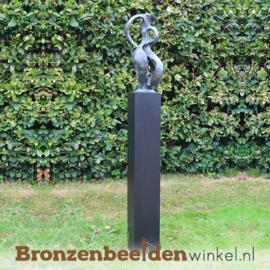 """Bronzen tuinbeeld """"Het Abstracte Hart"""" BBW52210br"""