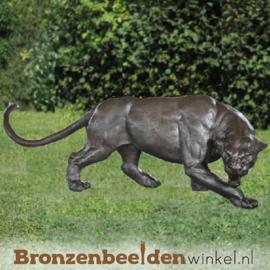 Bronzen panter beeld BBW1051