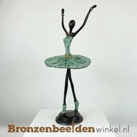 Afrikaans ballerina beeld 40 cm BBW009br93
