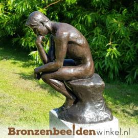 Beeld Le Penseur van Rodin BBW1316br