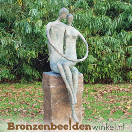 """Abstract tuinbeeld """"Genegen naar Elkaar"""" BBW52229br"""