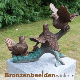Bronzen vogels op tak BBW0771br