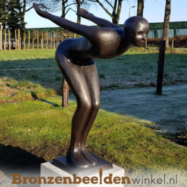 Groot bronzen beeld BBW1348br