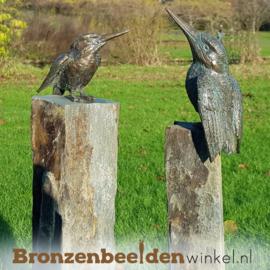 Tuinbeeld ijsvogeltjes op sokkels BBW88367-88321