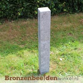 Hardsteen sokkel 90x12x12 cm