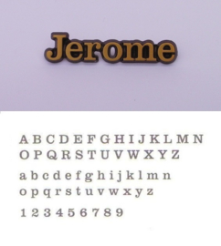 Losse letters Jerome