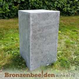 Hardsteen sokkel 45x25x25 cm