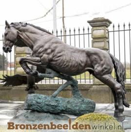 Beeld springend paard BBW1005