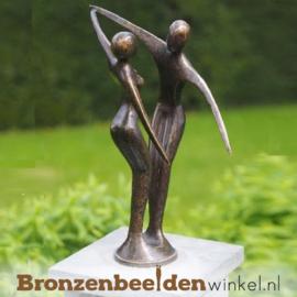 "Bronzen tuinbeeld ""Vreugde"" BBW1975br"