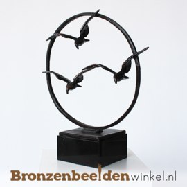 "Sculptuur ""De overtocht"" BBW006br82"
