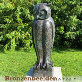 Bronzen uil beeld BBW52216br