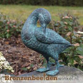 Bronzen eend beeld BBW0468br