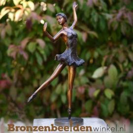 Ballerina beeld brons BBW1318br