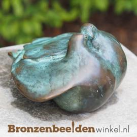 """Beeld """"De tortelduiven"""" van brons BBW0637br"""