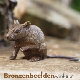 Beeldje muis in brons BBW1328br