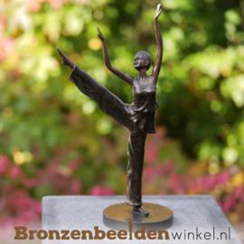 Ballerina beeldje brons BBW2396br