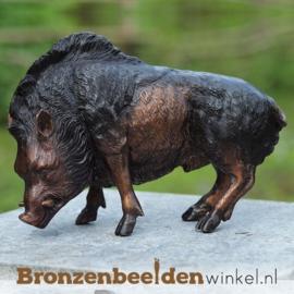 Bronzen everzwijn beeld BBW94492