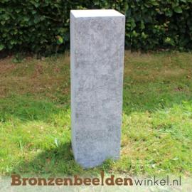 Hardsteen sokkel 85x20x20 cm