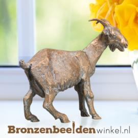 Bronzen geit beeld BBW37008