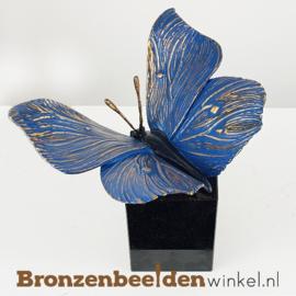 Beeld vlinder op sokkel BBW85525os