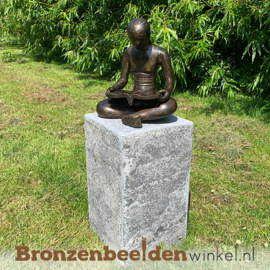 """Figuratief tuinbeeld """"De Lezer"""" BBW91246br"""