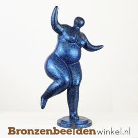 Bronzen dikke dame beeld BBW2340br