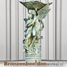 Bronzen fontein met engelen BBW8008
