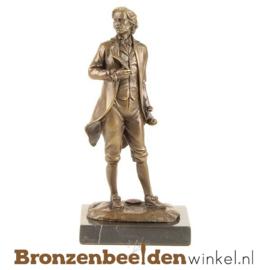Muziekbeeldje Mozart brons BBWFA01